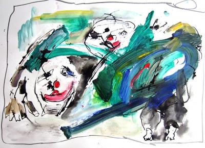 O.T. VI. (Aus Menschen + Masken) 2013-CWR 6959
