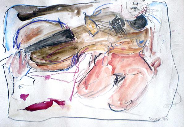 Mädchen mit Cello. 2007 - CWR 6677