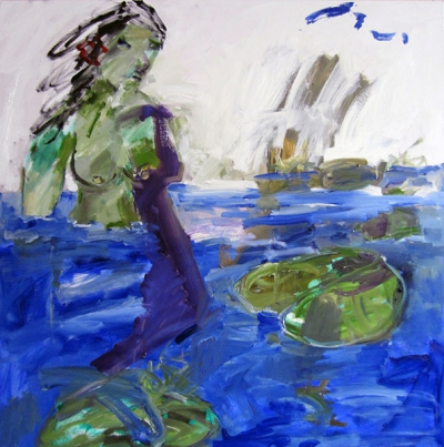 """Nymphaea lotus """"green"""", 2012 - cwr6927"""