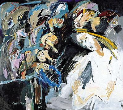 I. Station - Die Verurteilung - DIE BLAUE KRONE. 1998-99