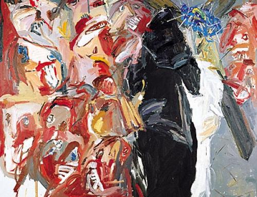 IV. Station – Jesus begegnet seiner Mutter – DIE BLAUE KRONE. 1998-99
