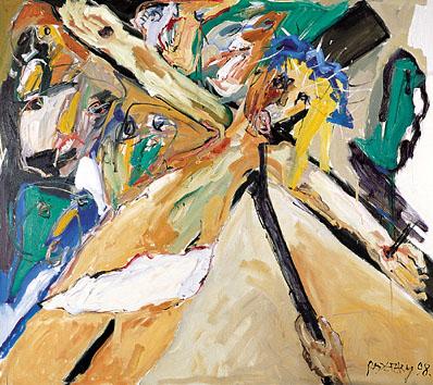 XI. Station - Jesus wird ans Kreuz geschlagen - DIE BLAUE KRONE. 1998-99
