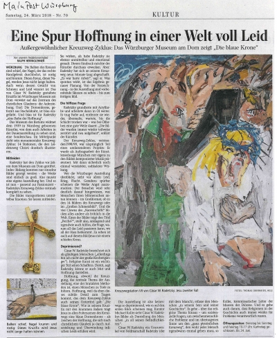 Artikel: Eine Spur Hoffnung in einer Welt voll Leid