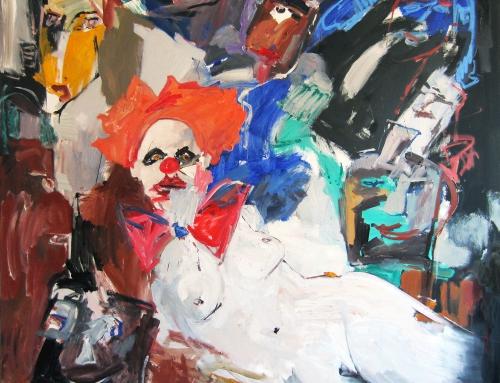 O.T. (aus Zyklus Menschen und Masken), 2012